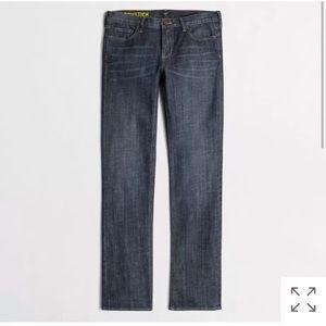 J Crew Matchstick Straight & Narrow Jeans Indigo